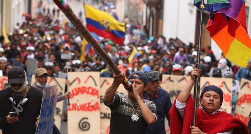 20 Canadian organizations stand in solidarity with Ecuadorian Indigenous, Labour and Civil Society Organizations